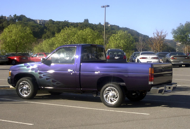 Purple Cars 1995 Nissan