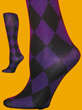 Purple Diamond Tights - Queen Size