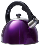 Shiny Purple Tea Kettle - Second with Minor Scuffs