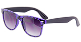 Purple Animal Print Sunglasses