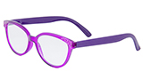 Rhinestone Purple Reading Glasses
