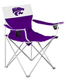 K-State Purple Canvas Chair