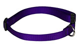 1/2 Dark Purple Dog Collar