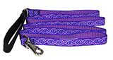 Purple Wave Leash