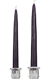 Purple 12 Taper Candles