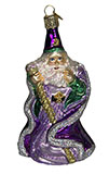 Purple Wizard Ornament