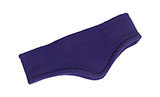 Purple Fleece Headband