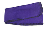 Purple Fleece Scarf