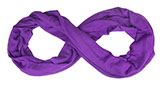 Solid Light Purple Infinity Scarf