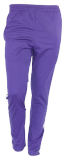 Men's / Unisex Blaze Purple Warmup Pants with White Accent