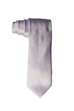 Solid Sateen Light Lavender Tie and Pocket Square
