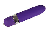 Large Silicone Purple Bullet Vibrator