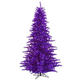 LED Pre-Lit 3-Foot Purple Tree