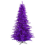 6.5-Foot Unlit Purple Tree