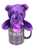Bear in a Mug! My Purple Mug Set