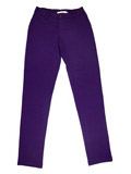 Juniors Dark Purple Jeggings