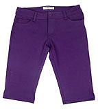Dark Purple Bermuda Shorts