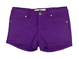Dark Purple Shorts
