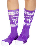 Purple Hawaii Socks