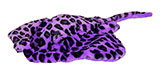Purple Plush Stingray