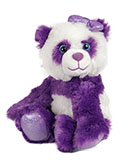 Small Purple Plush Panda