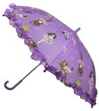 Children's Light Purple Ballerinas Umbrella