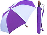 Pinwheel Purple Umbrella - Oversized