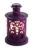Mini Purple Decorative Lantern