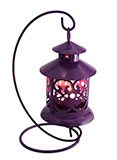 Hanging Purple Decorative Lantern