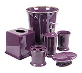 Regal Purple Bathroom Accessories DELUXE SET