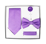 Light Purple Tie Set