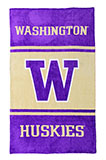 UW (University of Washington) Large Fleece Throw Blanket