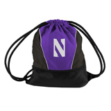 Northwestern Cinch Bag