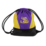 LSU Cinch Bag