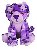 Purple Camouflage Plush Lion