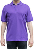 Solid Purple Polo Shirt