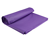 Round Purple Plastic Tablecloth