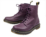 Purple Doc Martens, Grained