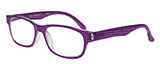 Purple Polka-Dot Reading Glasses
