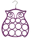 Purple Owl Hanger