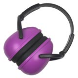 Protective Purple Ear Muff
