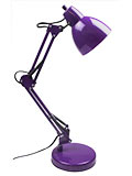 Purple Desk Lamp