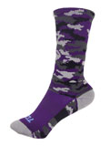 Purple Camo Socks