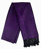 Purple Grape Vine Scarf