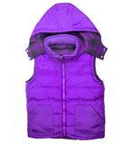 Reversible Purple Vest