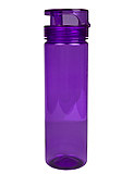 Flip-Top Purple Water Bottle