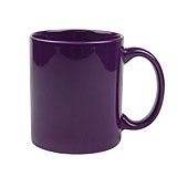 Ceramic Purple Coffee Mug