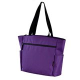 Padded Purple Carry On Tote Bag