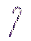 Huckleberry Purple Candy Canes