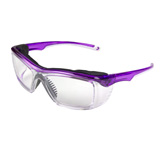 Full Coverage Purple Safety Glasses